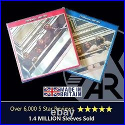 1000 LP Album 12 450g Plastic Polythene Record Sleeves Outer Vinyl Covers