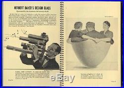 1941 Alex Steinweiss A-D MAGAZINE rare Cover + Record Album Graphic DESIGN issue