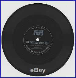 1967-68 New Jersey Americans Aba 45 RPM Record, Album Cover & Sheet Music Rare