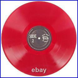 1972 GRATEFUL DEAD Hollywood Palladium RED VINYL LP Album Cover Sleeve, Greatful