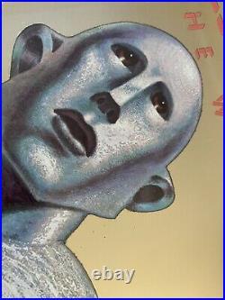 1977 QUEEN News Of The World Promo Album Cover Mirror Elektra Asylum Records USA