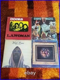 34 Vinyl Album Classic Rock COVERS ONLY Lot Pink Floyd Acdc Queen Hendrix