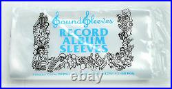 500 Poly Outer Sleeves 3 Mil High Quality Record LP Album Covers 33 RPM Vinyl