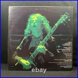 AC/DC Let There Be Rock South African Green Cover Vinyl Album LP Excellent