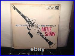 ARTIE SHAW Both Feet In The Groove RCA 1201 orig RARE ANDY WARHOL COVER
