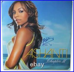 Ashanti Signed Autographed Album Cover Chapter II JSA EE19948
