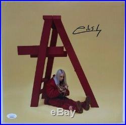 Autographed Billie Eilish signed 12x12 PHOTO Album Cover Don't Smile at Me JSA