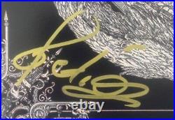 Autographed Dimmu Borgir signed Eonian 12x12 Album cover photo LP Shagrath