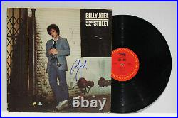 Autographed Hand Signed BILLY JOEL Record Album Cover LP 52nd Street