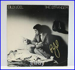 Autographed Hand Signed BILLY JOEL Record Album Cover THE STRANGER NO LP