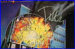 Autographed Hand Signed DEF LEPPARD Record Album Cover Pyromania NO VINYL LP
