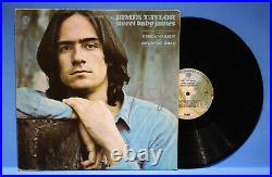 Autographed Hand Signed JAMES TAYLOR Record Album Cover LP Sweet Baby James