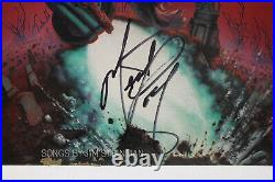 Autographed Hand Signed MEAT LOAF Record Album Cover LP Bat Out Of Hell