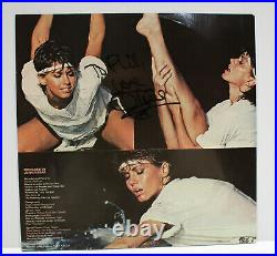 Autographed Hand Signed OLIVIA NEWTON JOHN Record Album Cover LP Physical