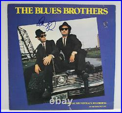 Autographed Hand Signed THE BLUES BROTHERS Record Album Cover NO VINYL LP