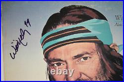 Autographed Hand Signed WILLIE NELSON Record Album Cover LP Always On My Mind