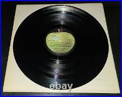 BEATLES 1968 WHITE ALBUM FIRST PRESSING NM LPs & EX COVER WITH PHOTOS AND POSTER