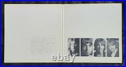 BEATLES'68 LA WHITE ALBUM ALL 7 ERRORS #0446964 NM COVER & LPs J40/J41 MATRIX