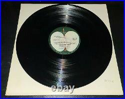 BEATLES'68 WHITE ALBUM MEGA LOW# 0407495 EX LPs & EX COVER WITH PHOTOS & POSTER