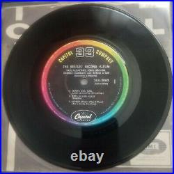 BEATLES SECOND ALBUM CAPITOL COMPACT 33 rpm 1964 7 JUKEBOX EP SXA-2080 No Cover