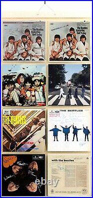 BEATLES Vinyl Display RARE ALBUM COVERS FANTASY BUTCHER ABBEY RUBBER PROMO HELP