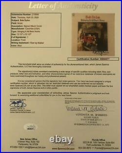 BOB DYLAN Signed Autograph BRINGING IT ALL BACK HOME Album Record Cover LP JSA