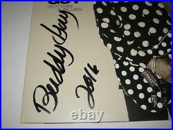 BUDDY GUY Signed RHYTHM & BLUES ALBUM LP COVER with Beckett COA