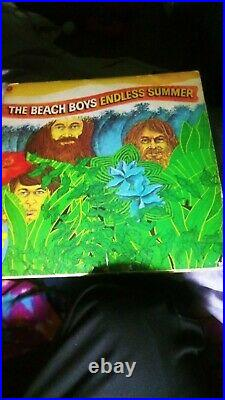 Beach boys endless summer album 1974 complete with cover and vinyl record