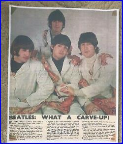 Beatles Mono Butcher Cover, Yesterday And Today, 3rd State, PERFECT PEEL