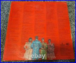 Beatles Sgt. Pepper UK First Mono Press Rare Fourth Proof Cover PMC 7027