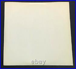 Beatles White Album UK Mono 1ST PRESS, EX++ Cover/Near Mint Vinyl Whitest Cover