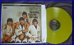 Beatles Yesterday & Today Butcher Cover LP yellow translucent vynil 33 1/3 RPM