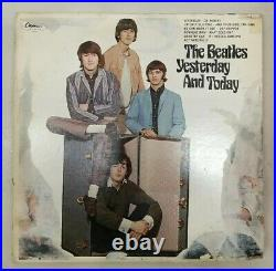 Beatles Yesterday and Today LP Butcher cover 3rd state peel. Album VG+ & OIS
