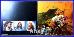 Billy Gibbons Dusty Hill Signed Autographed Album Cover ZZ Top Tejas JSA KK78450