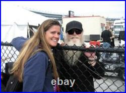 Billy Gibbons Frank Beard Dusty Hill Autographed Album Cover ZZ Top Afterburner