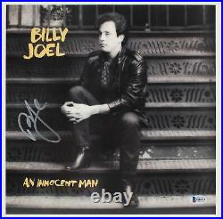 Billy Joel Authentic Signed An Innocent Man Album Cover With Vinyl BAS #G46910