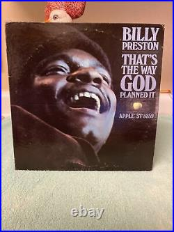 Billy Preston That's The Way God Planned It Alternate withdrawn Cover beatles lp
