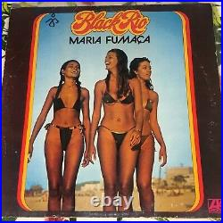 Black Rio Maria Fumaca LP Atlantic Germany Bikini Girls Cover ultra rar