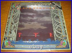 Black Sabbath-Tyr Picture-LP, I. R. S. Records UK 1990, cover sheet, +2 bonus, new