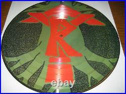 Black Sabbath-Tyr Picture-LP, I. R. S. Records UK 1990, cover sheet, +2 bonus, top