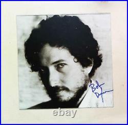 Bob Dylan Album autographed Record signed Lp Cover + COA