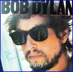 Bob Dylan Infidels signed Lp cover autographed Album + COA