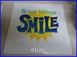Brian Wilson Presents Smile Sealed LP Vinyl Record Album Embossed Cover