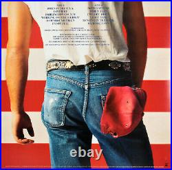 Bruce Springsteen Authentic Signed Born In The USA Album Cover With Vinyl JSA