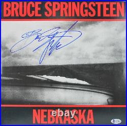 Bruce Springsteen Authentic Signed Nebraska Album Cover With Vinyl BAS #A11504