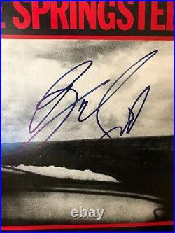 Bruce Springsteen Signed Nebraska Signed Record Album Cover with COA