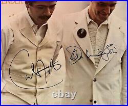 CARLOS SANTANA & JOHN McLAUGHLIN AUTOGRAPHED SIGNED Vinyl Record ALBUM COVER