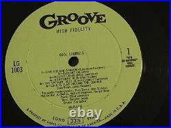 CONTE CANDOLI -Cool Gabriels GROOVE 1003 dg orig PROMO withWarhol Cover -RARE