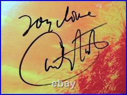 Carlos Santana Signed Autographed Record Album Cover Rock Legend JSA LL62141