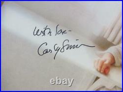 Carly Simon signed LP Album Cover Hotcakes BAS Beckett auto